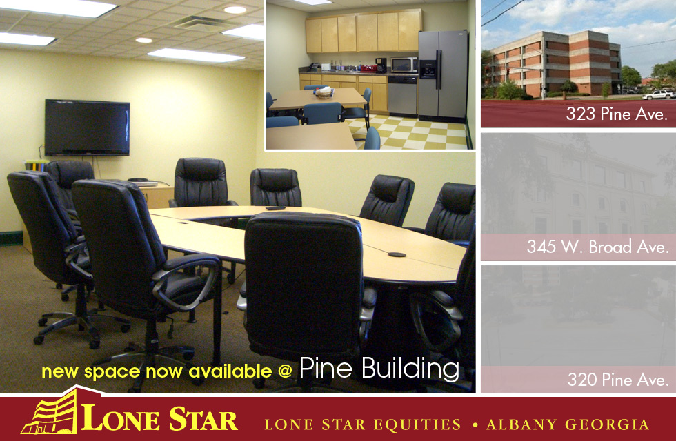 New Office Space Now Available at Pine Building - 323 Pine Ave - Lone Star Equities